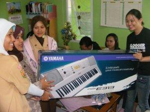 pemberian keyboard