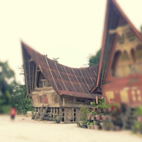 Rumah Adat di Tomok