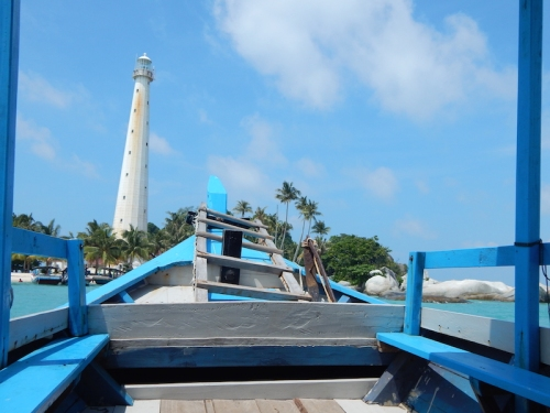 Approaching Pulau Lengkuas