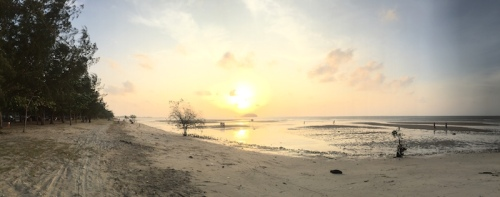Sunset di Tanjung Pendam