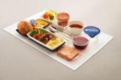 Menu di Singapore Airlines Premium Economy Class